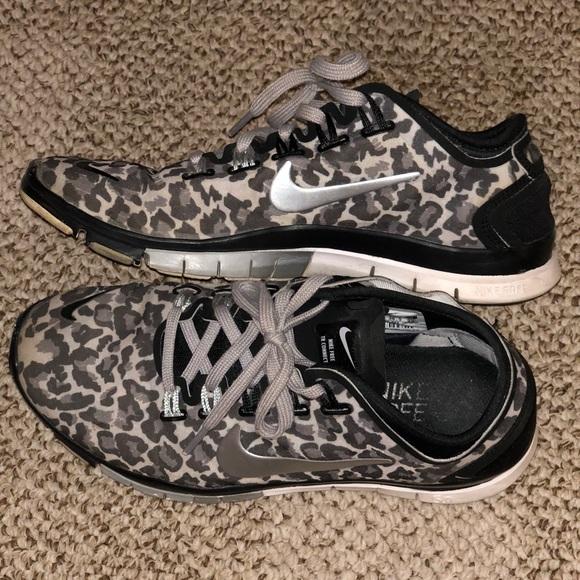 Women's Nike Free 5.0 Cheetah print